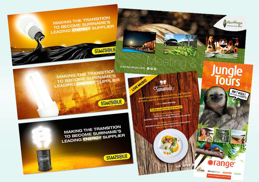 graphic design suriname, grafische vormgeving, suriname
