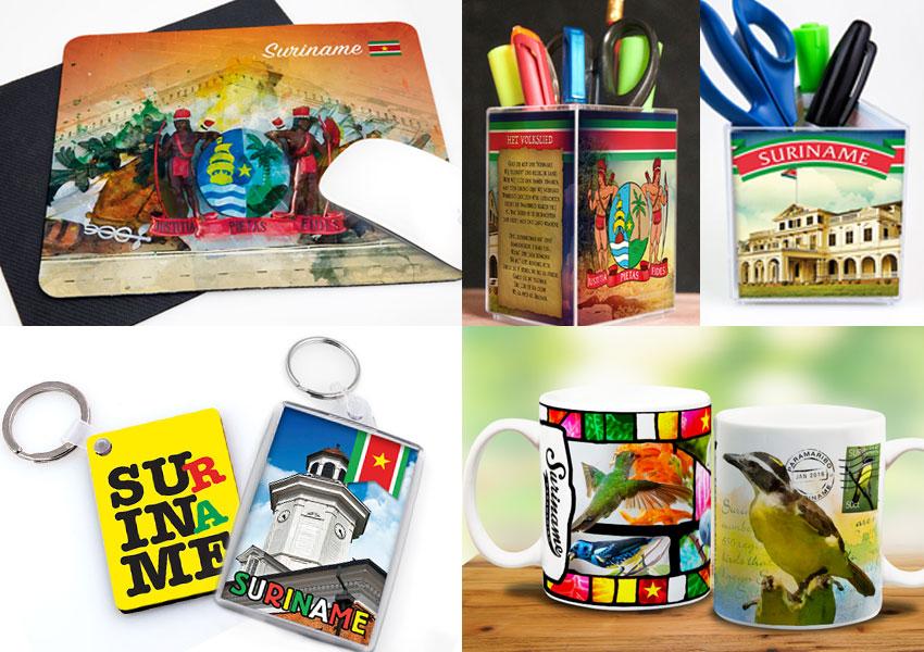 surinaamse souvenirs, suriname, geschenken