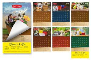ontwerp wandkalender