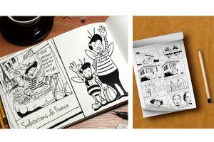 digitale tekeningen/schetsen